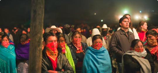 Internationales Zapatistisches Festival der »Würdigen Wut«