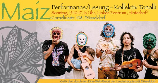 Maíz - Performance/Lesung