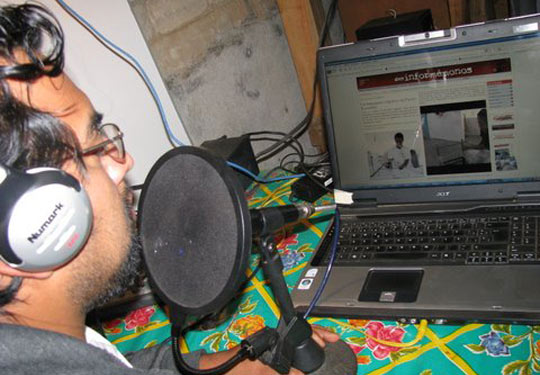 Radio Aire Zapoteco / Raymundo Cruz Miguel, Desinformemonos