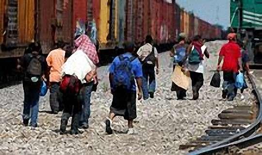 Häufig werden Migranten in Mexiko Opfer krimineller Banden