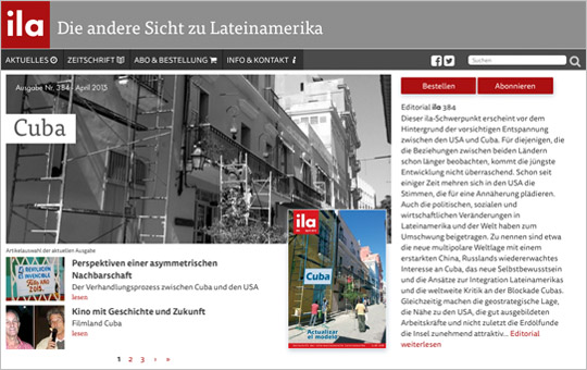ILA-Website in neuem Gewand