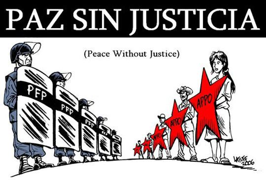 Paz Sin Justicia - Peace Without Justice
