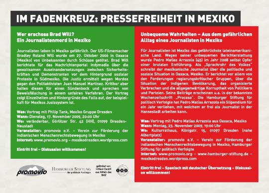 Pressefreiheit in Mexiko
