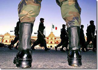 Militärs in Mexiko-Stadt