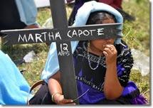 Foto: Aktionstage für Gerechtigkeit und Wahrheit: Acteal 12. August 2011 © SIPAZ