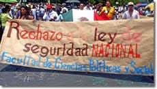 Foto: Bürgerkarawane für Frieden mit Gerechtigkeit und Würde © SIPAZ, August 2011