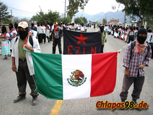 Demo in Chiapas